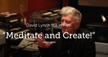 Students praise David Lynch MA in Film at MUM