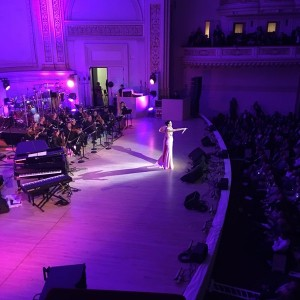 Mesmerizing performance at the Change Begins Within gala by Katy Perry