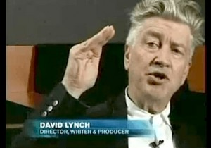David Lynch in a scene from the film