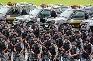 Brazilian police forces