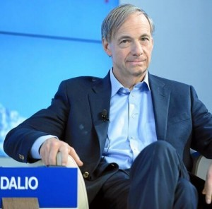 MODEST BACKGROUND: Ray Dalio was born in New York, an only son of a jazz musician and his wife.