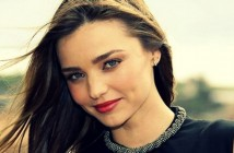 "Model Miranda Kerr: ""Being happy is a conscious choice!"""