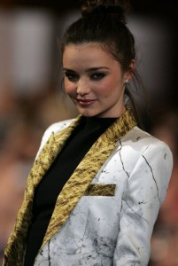 SUCCESFUL CAREER: Forbes ranks Miranda Kerr second on its list of highest-paid models, right behind Gisele Bündchen.